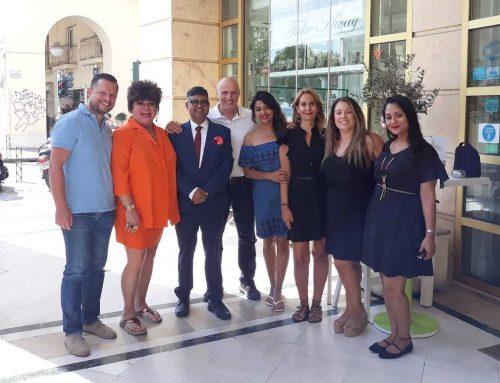 """Οι 172 Ινδές φιναλίστ του διαγωνισμού ομορφιάς """"Mrs. India Worldwide 2019"""" συμμετέχουν στον 8ο Διεθνή Νυχτερινό Ημιμαραθώνιο Θεσσαλονίκης – Dole"""