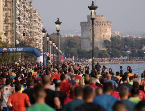 Ανεπανάληπτη γιορτή ο «Νυχτερινός»,  πλημμύρισε από 20.000 δρομείς η Θεσσαλονίκη!